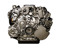 Hybrydu samochodowy silnik od Mercedez Zdjęcie Stock