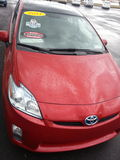 Hybrydowy samochód: Toyota Prius Obraz Royalty Free