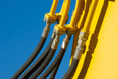 Hydaulic Hoses Royalty Free Stock Photo