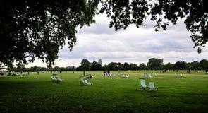 hyde πάρκο του Λονδίνου Στοκ εικόνα με δικαίωμα ελεύθερης χρήσης