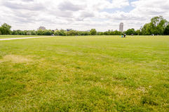 парк hyde london Стоковая Фотография RF
