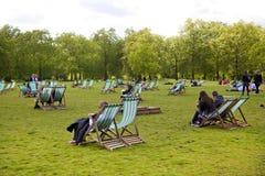 hyde london park Royaltyfri Bild