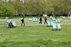 hyde london park Royaltyfria Foton