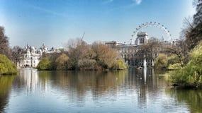 hyde london park Arkivfoton