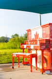 The Hyde Park Canadian Piano Royalty Free Stock Photo
