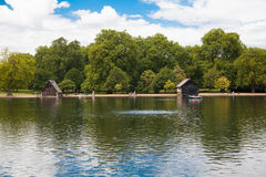 Hyde park in the enter of London, nature island in the middle of busy capital Stock Images