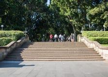 Hyde Park Entrance Steps Royalty Free Stock Photo