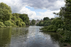 Hyde Park. Lake in Hyde Park, London Royalty Free Stock Photography
