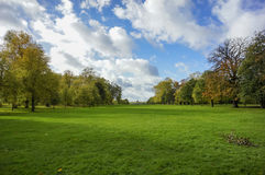 Hyde park landscape. London, UK Stock Photo