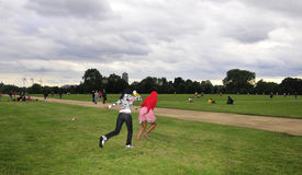 Hyde park in London Royalty Free Stock Photography