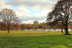 Hyde park, London. Autumn in Hyde Park, London, UK Stock Photos