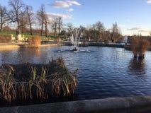 Hyde Park, London, gro?artige Briten stockfotografie