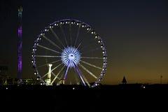 Hyde park Londyn - zima festiwal zdjęcia royalty free