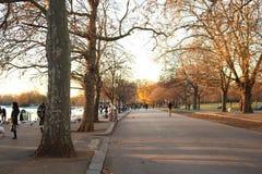 Hyde Park. Look on the Hyde Park, London Stock Photos