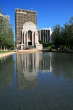 Hyde park monument. The hyde park anzac monument in sydney Royalty Free Stock Image
