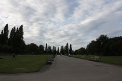 Hyde Park in summer Royalty Free Stock Photography