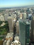 Hyde Park Sydney City Royaltyfri Foto