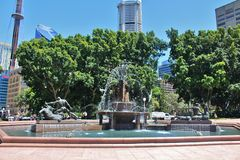 Hyde Park, Sydney Royalty Free Stock Photography