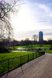 Hyde Park. A view of Hyde Park on an early spring morning Royalty Free Stock Images
