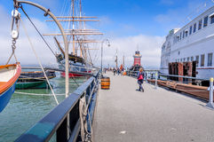 Free Hyde Street Pier Stock Image - 45536631