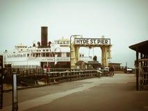 Hyde Street Pier San Francisco Imagen de archivo