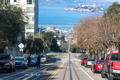 Hyde Street in San Francisco Stock Photo