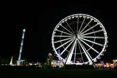 Hydepark's Winter Wonderland, London Stock Photography