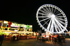 Hydepark's Winter Wonderland, London Stock Photo