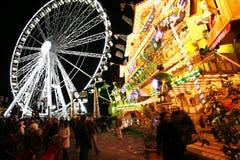 Hydepark's Winter Wonderland, London Royalty Free Stock Photos