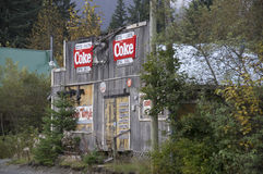 Hyder Alaska Village Store Royalty Free Stock Image