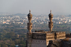 Hyderabad. View of 4th bigest Indian city Stock Photography