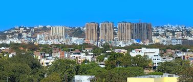 Hyderabad, India. HYDERABAD INDIA -December 16 : Hyderabad is fifth largest contributor city to India`s GDP with US $74 billion . On December 16,2016 Hyderabad royalty free stock photos