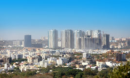 HYDERABAD INDIA. December 16 : Hyderabad is fifth largest contributor city to India`s GDP with US $74 billion . On December 16,2016 Hyderabad, India royalty free stock image