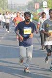 Hyderabad 10K körningshändelse, Indien Arkivfoto