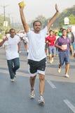 Hyderabad 10K Looppasgebeurtenis, India Stock Foto's