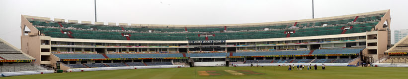 Hyderabad-Kricketstadion Stockfotos