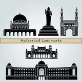 Hyderabad landmarks and monuments Stock Photo