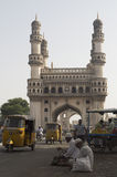 Hyderabad monument Charminar Stock Afbeeldingen