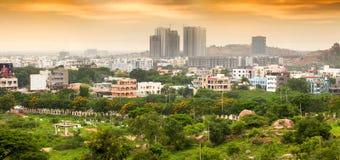 Hyderabad nowy przyrost W India obrazy royalty free
