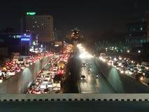 Hyderabad verkeer royalty-vrije stock foto
