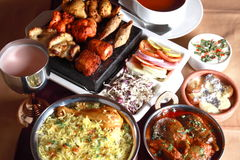 Hyderabadi Biryani fotografia stock