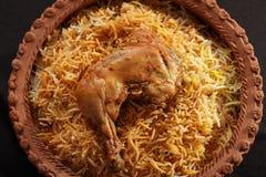 Hyderabadi Biryani stock photos