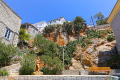 Hydra Buildings - Greece island Stock Images