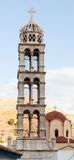 Hydra cathedral bell tower Royalty Free Stock Images