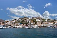 Hydra, Greece. Island of Hydra in Greece Stock Photos