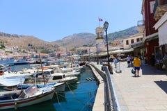 Hydra - Greece island Royalty Free Stock Photography