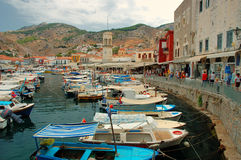Hydra Island Stock Photo
