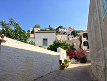 Hydra island. Island of Hydra, Greece Stock Photography