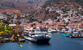 Hydra Island, Greece. Royalty Free Stock Image