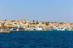 Hydra island - Greece. Houses at Hydra island - Greece Royalty Free Stock Photo